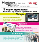 Hardware & Fastener Components Magazine Feb 2021 Issue