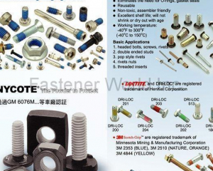 BOLTS/SCREWS/RIVETS(TAIWAN SELF-LOCKING FASTENERS IND CO., LTD. (TSLG))