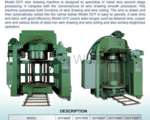 WIRE DRAWER(AN CHEN FA MACHINERY CO., LTD. )