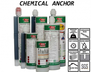 GU-100 POLYESTER CHEMICAL ANCHOR(GOOD USE HARDWARE CO., LTD. )